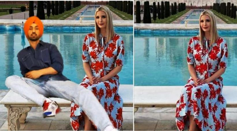 Diljit Dosanjh Teases Ivanka Trump With Photoshopped Meme Her Million Dollar Reply Breaks Internet Abc Mundial